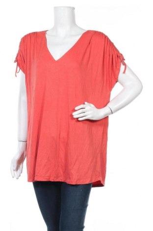 Дамска блуза Suzanne Grae, Размер XXL, Цвят Оранжев, Вискоза, еластан, Цена 14,96лв.