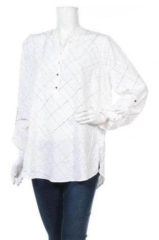 Дамска блуза Suzanne Grae, Размер XL, Цвят Бял, 97% полиестер, 3% еластан, Цена 22,05лв.
