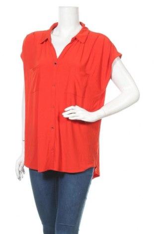 Дамска блуза Suzanne Grae, Размер XL, Цвят Червен, Полиестер, еластан, Цена 16,96лв.