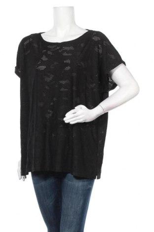 Дамска блуза Suzanne Grae, Размер XXL, Цвят Черен, Полиестер, еластан, Цена 15,96лв.