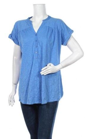 Дамска блуза Suzanne Grae, Размер XL, Цвят Син, Памук, Цена 14,70лв.