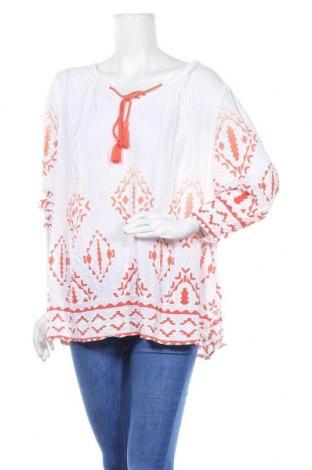 Дамска блуза Suzanne Grae, Размер XXL, Цвят Бял, Вискоза, памук, Цена 17,85лв.