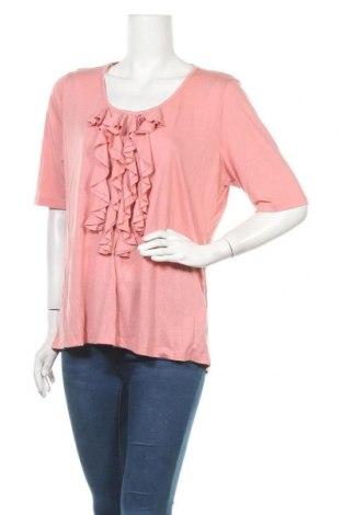 Дамска блуза Suzanne Grae, Размер XL, Цвят Розов, Вискоза, полиестер, Цена 17,85лв.