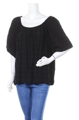 Дамска блуза Suzanne Grae, Размер XXL, Цвят Черен, Вискоза, Цена 18,90лв.
