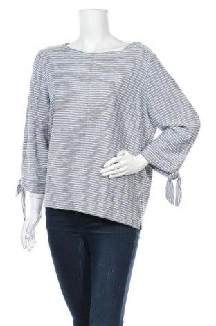 Дамска блуза Suzanne Grae, Размер XL, Цвят Син, Вискоза, полиестер, памук, Цена 17,96лв.