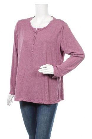 Γυναικεία μπλούζα Tchibo, Μέγεθος XXL, Χρώμα Βιολετί, 48% βαμβάκι, 47% μοντάλ, 5% ελαστάνη, Τιμή 10,49€