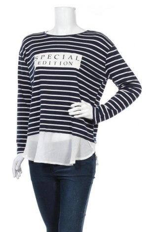 Дамска блуза Temt, Размер XL, Цвят Син, 5% полиестер, 15% вискоза, Цена 18,90лв.