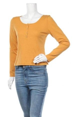 Дамска блуза Temt, Размер XL, Цвят Жълт, Полиестер, Цена 27,41лв.