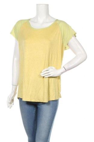 Дамска блуза Temt, Размер XL, Цвят Жълт, 95% вискоза, 5% еластан, Цена 25,20лв.