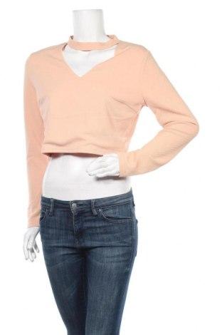 Дамска блуза Temt, Размер XL, Цвят Бежов, Полиестер, Цена 18,95лв.