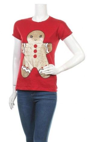 Γυναικεία μπλούζα Tezenis, Μέγεθος S, Χρώμα Κόκκινο, Βαμβάκι, Τιμή 3,41€