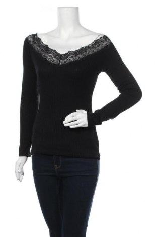 Γυναικεία μπλούζα Tezenis, Μέγεθος M, Χρώμα Μαύρο, Τιμή 9,09€