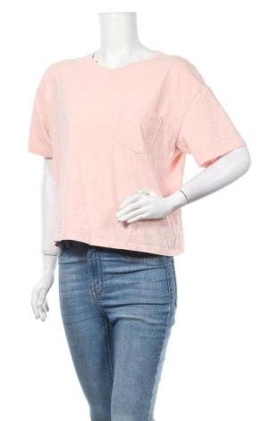 Γυναικεία μπλούζα Time and tru, Μέγεθος L, Χρώμα Ρόζ , Βαμβάκι, Τιμή 9,35€