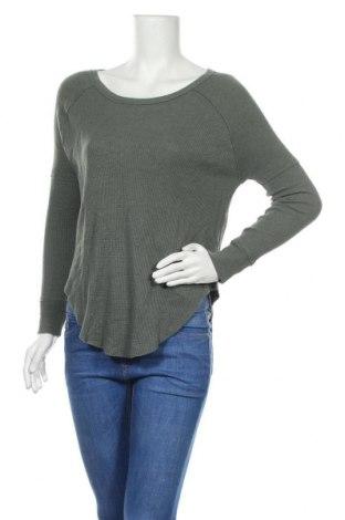 Дамска блуза Tna, Размер XS, Цвят Зелен, 60% памук, 40% полиестер, Цена 4,31лв.