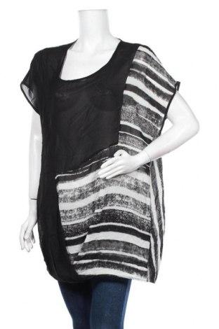 Дамска блуза Ts, Размер XXL, Цвят Черен, 100% полиестер, Цена 16,80лв.