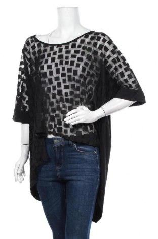 Дамска блуза Ts, Размер XXL, Цвят Черен, Полиестер, полиамид, еластан, Цена 33,60лв.
