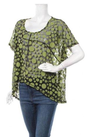 Дамска блуза Ts, Размер 4XL, Цвят Черен, 55% полиестер, 45% полиамид, Цена 18,90лв.