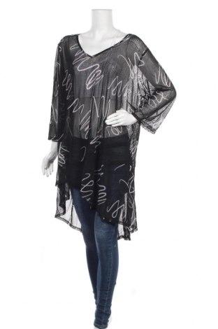 Дамска блуза Ts, Размер XL, Цвят Черен, 93% полиестер, 7% еластан, Цена 27,30лв.