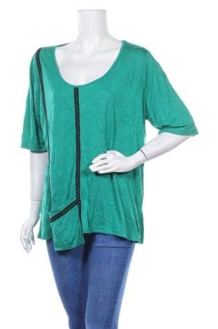 Дамска блуза Ts, Размер XL, Цвят Зелен, 50% полиестер, 50% модал, Цена 24,15лв.