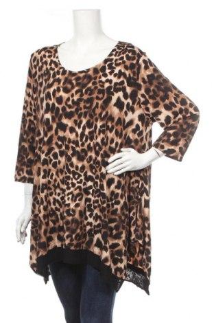 Дамска блуза Ts, Размер XXL, Цвят Многоцветен, 95% полиестер, 5% еластан, Цена 19,95лв.