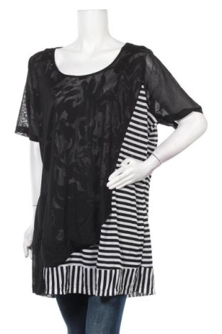 Дамска блуза Ts, Размер 4XL, Цвят Черен, Полиестер, Цена 17,85лв.
