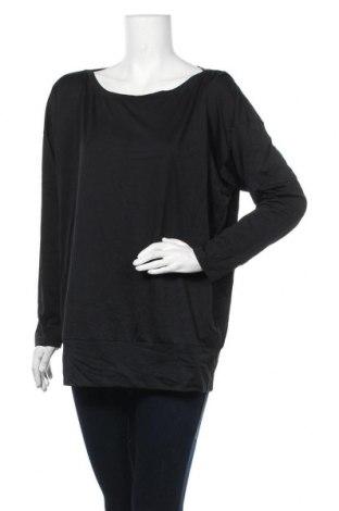 Дамска блуза Uniqlo, Размер XL, Цвят Черен, Полиестер, Цена 9,24лв.