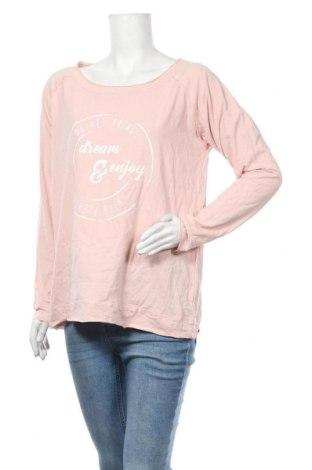 Дамска блуза Up 2 Fashion, Размер M, Цвят Розов, 95% памук, 5% еластан, Цена 22,68лв.