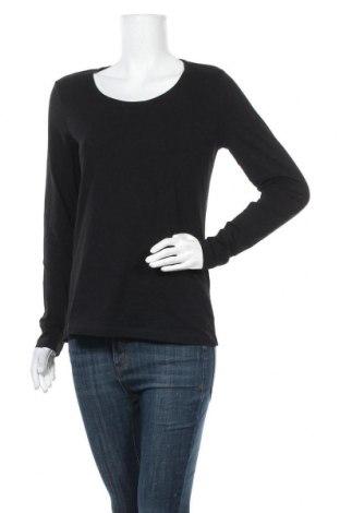 Дамска блуза Up 2 Fashion, Размер M, Цвят Черен, 95% памук, 5% еластан, Цена 13,39лв.