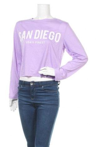 Γυναικεία μπλούζα Valley Girl, Μέγεθος XL, Χρώμα Βιολετί, Πολυεστέρας, Τιμή 3,86€