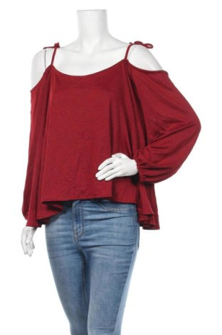 Γυναικεία μπλούζα Valley Girl, Μέγεθος XL, Χρώμα Κόκκινο, Βισκόζη, Τιμή 7,18€