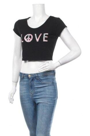 Γυναικεία μπλούζα Vert De Rage, Μέγεθος S, Χρώμα Μαύρο, Τιμή 3,64€