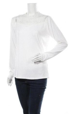Γυναικεία μπλούζα Vrs Woman, Μέγεθος XL, Χρώμα Λευκό, 65% πολυεστέρας, 30% βισκόζη, 5% ελαστάνη, Τιμή 7,60€