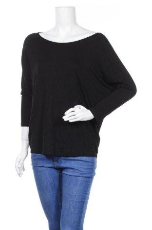 Дамска блуза Warehouse, Размер M, Цвят Черен, 95% вискоза, 5% еластан, Цена 16,07лв.