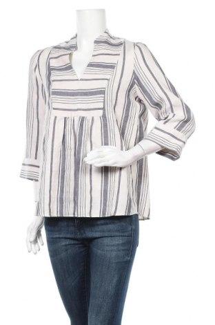 Γυναικεία μπλούζα Weekend Max Mara, Μέγεθος M, Χρώμα Μπλέ, 64% λινό, 36% βαμβάκι, Τιμή 53,40€