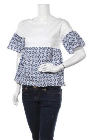 Γυναικεία μπλούζα Weekend Max Mara, Μέγεθος S, Χρώμα Λευκό, Βαμβάκι, Τιμή 47,22€