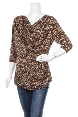 Дамска блуза Worthington, Размер XL, Цвят Многоцветен, 95% полиестер, 5% еластан, Цена 13,23лв.