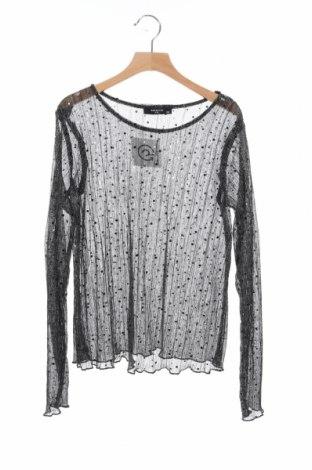 Γυναικεία μπλούζα Yfl Reserved, Μέγεθος XS, Χρώμα Μαύρο, Τιμή 9,68€