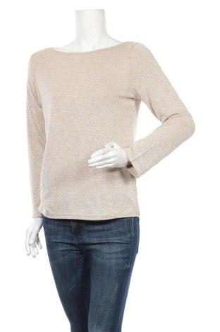 Дамска блуза Zanzea, Размер S, Цвят Бежов, 60% вискоза, 35% полиестер, 5% еластан, Цена 25,52лв.