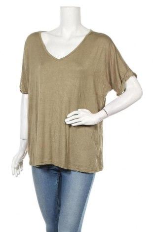 Дамска блуза Zanzea, Размер XXL, Цвят Зелен, Цена 13,39лв.