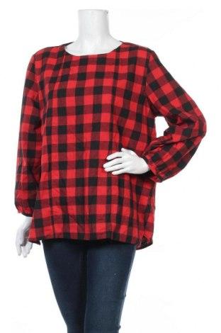 Дамска блуза Zanzea, Размер XXL, Цвят Черен, 65% полиестер, 35% памук, Цена 17,96лв.