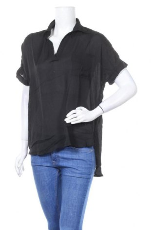 Дамска блуза Zanzea, Размер XL, Цвят Черен, Полиестер, Цена 9,24лв.