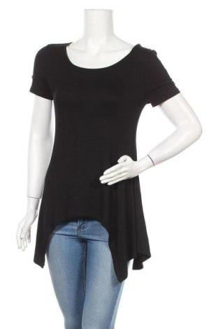 Дамска блуза Zenana Outfitters, Размер L, Цвят Черен, 95% вискоза, 5% еластан, Цена 15,12лв.