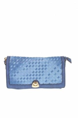 Γυναικεία τσάντα, Χρώμα Μπλέ, Δερματίνη, Τιμή 16,05€