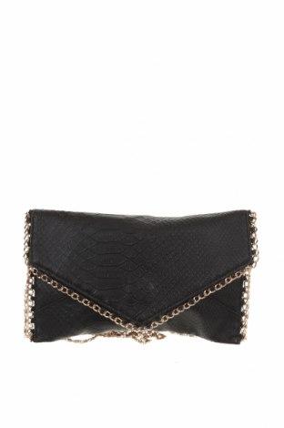 Γυναικεία τσάντα, Χρώμα Μαύρο, Δερματίνη, Τιμή 18,19€