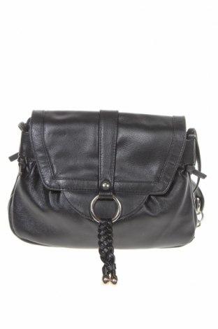 Дамска чанта, Цвят Черен, Естествена кожа, Цена 21,74лв.