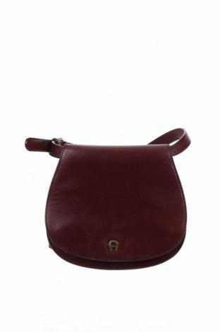 Γυναικεία τσάντα Aigner, Χρώμα Κόκκινο, Γνήσιο δέρμα, Τιμή 59,75€