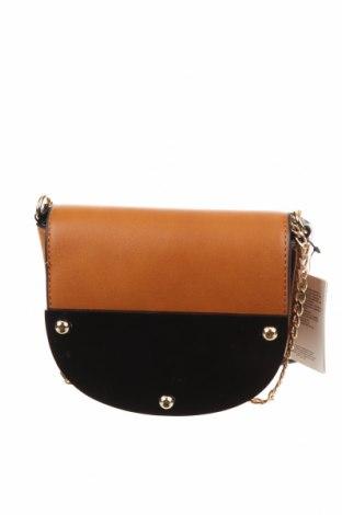 Γυναικεία τσάντα Blanco, Χρώμα Καφέ, Δερματίνη, Τιμή 21,86€