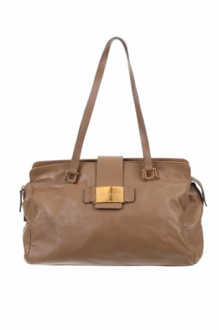 Γυναικεία τσάντα Dolce & Gabbana, Χρώμα  Μπέζ, Γνήσιο δέρμα, Τιμή 212,29€