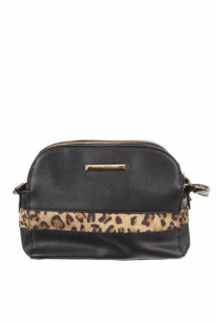 Дамска чанта Dorothy Perkins, Цвят Черен, Еко кожа, текстил, Цена 14,18лв.