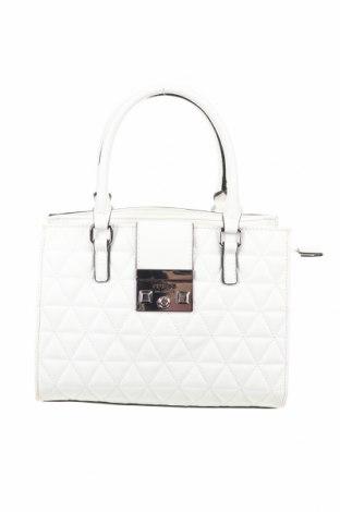 Γυναικεία τσάντα Guess, Χρώμα Λευκό, Δερματίνη, Τιμή 100,13€